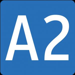 Sued Autobahn A2